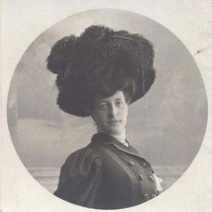 Fotografia originale - Ritratto di Giovanna Béha-Castagnola