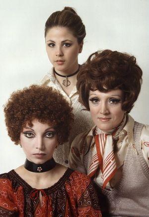 Silvano Bergamaschi-1970-Mariangela Melato-Ottavia Piccolo-Edmonda Aldini-Tre Grandi Attrici Di Prosa In Una Insolita Veste Di Fotomodelle