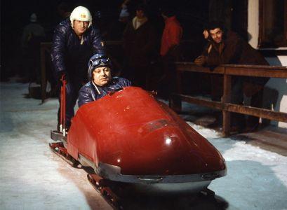 Silvano Bergamaschi-Cortina D\'Ampezzo 1970-Paolo Villaggio-il Cattivo Presentatore Diventa Pilota Di Bob